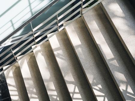 Escalier étape Détails de l'architecture abstrait Banque d'images - 76976401