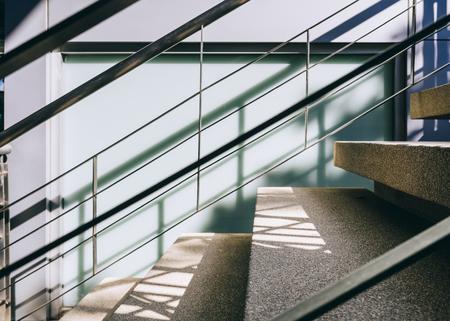 Escalier étape Détails de l'architecture abstrait Banque d'images - 76997777