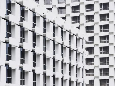 void: Architecture detail Building Facade design Geometric Window frame Stock Photo