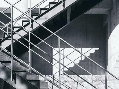 Escaliers étape étape de l & # 39 ; ombre et l & # 39 ; ombre fond Banque d'images - 79474459