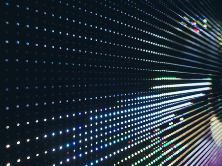 Led light Pattern Gradient Technology Abstract background 免版税图像 - 81170991