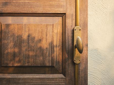Wooden door handle shade shadow lighting Home lifestyle background