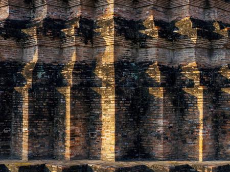 塔建築パターン陰と影テクスチャの背景を詳細します。