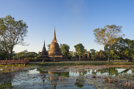 タイのスコータイ歴史公園 写真素材