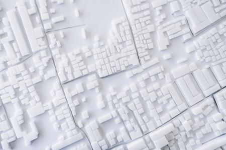 건축 모델 도시의 도시 컨셉 디자인 스톡 콘텐츠
