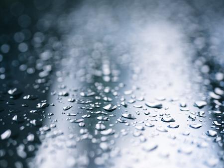 Regendruppel textuur Blur reflectie achtergrond