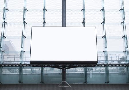 모빌 업 광고판 배너 광고 미디어 디스플레이 건물 외관 스톡 콘텐츠