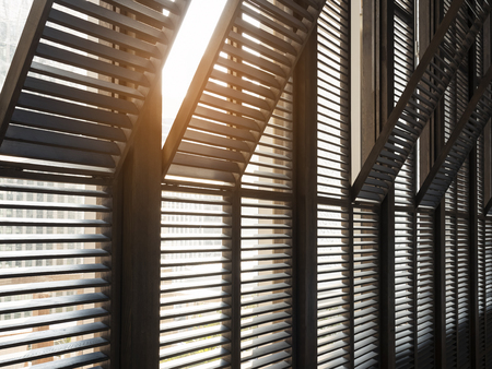 Window frame pattern Architecture details with lighting