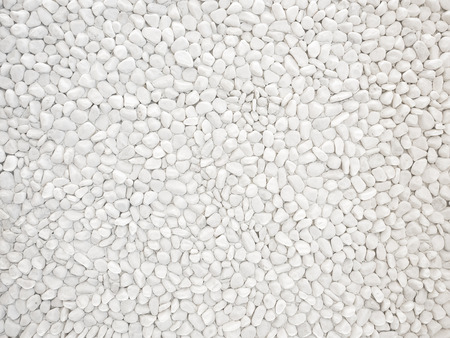 White Pebble stone Nature texture background