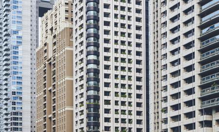 建築建築外装 アパートレジデンスエリア街並み