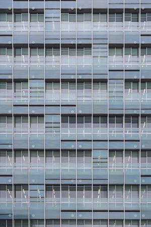 Architecture facade window pattern building exterior