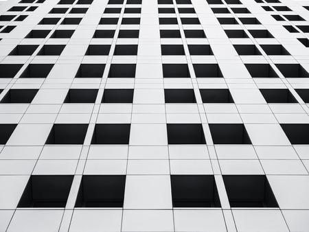 Architecture detail Void window frame Modern Building Facade Reklamní fotografie