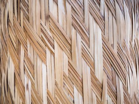 Wicker surface Mat Floor Bamboo texture handicraft background