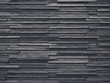 Black Tiles slate wall pattern Architecture details Background Stock fotó