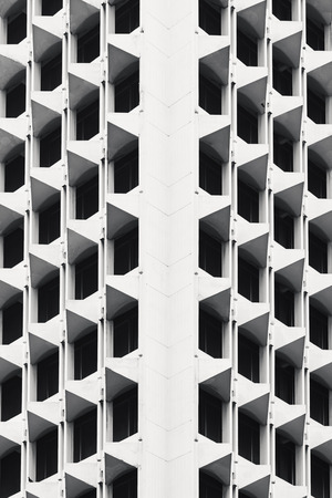 Architecture details wall pattern geometric abstract background Banco de Imagens