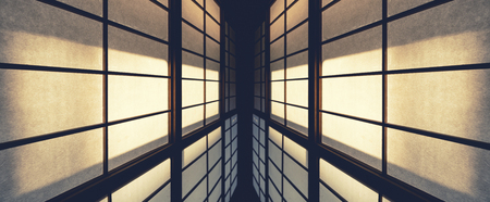 Wall Pattern details Architecture abstract perspective Japan traditional door