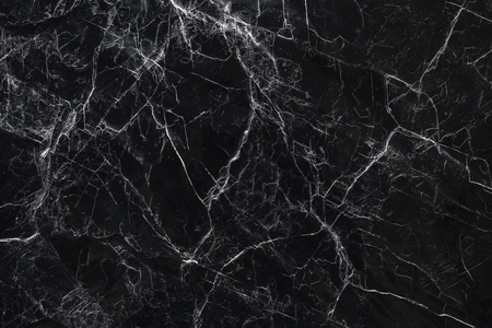 Black marble stone Texture Nature abstract background Banco de Imagens