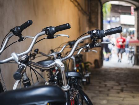 Bicycle rental Shop People city lifestyle Transportation Bike Tour