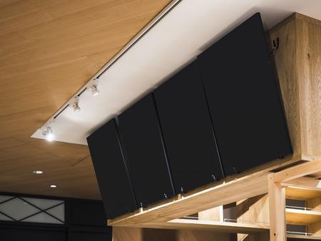 Shop sign Coffee shop menu Interior cafe restaurant chalkboard panel Imagens