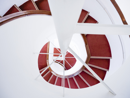 Spiral staircase Modern Architecture detail Abstract Background