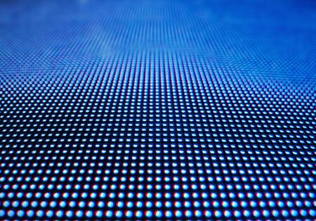 Led light digital dot Pattern Abstract Technology background Stock Photo