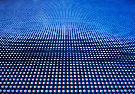 Led light digital dot wzór abstrakcyjne tło technologii Zdjęcie Seryjne