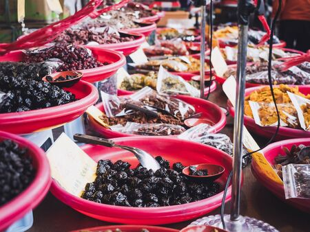 Sweet fruit Chinese market Local product shop lifestyle Taiwan street food