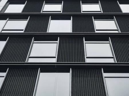 Architecture details Window frame pattern Modern building exterior