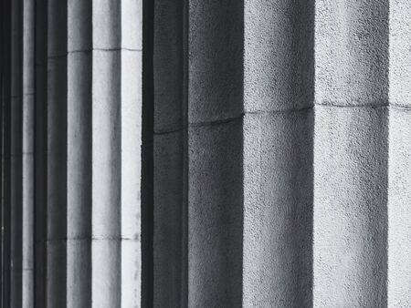 Cement wall textured background surface Architecture details Column 스톡 콘텐츠