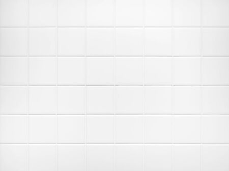 White tile wall Background Bathroom floor texture minimal decoration