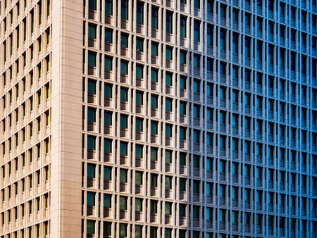 Architecture detail Facade pattern Window square frame Building exterior Background