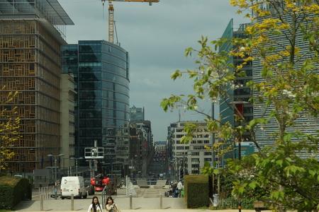 Bruxelles Europe government district EU Parlament