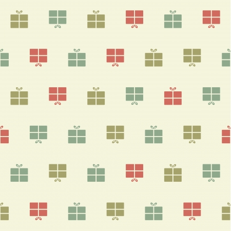 Vector Christmas pattern. Colorfuly xmas seamles texture. For background, greating card or wrapping paper. Illustration