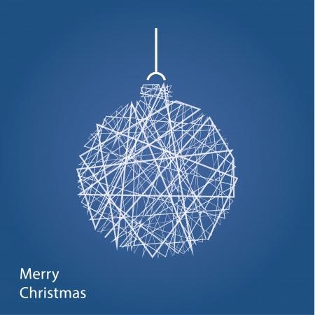 Vector overzicht kerstversiering. Moderne Kerst achtergrond met plaats voor uw inhoud. Kerstversiering. Minimalistisch kerst motief.