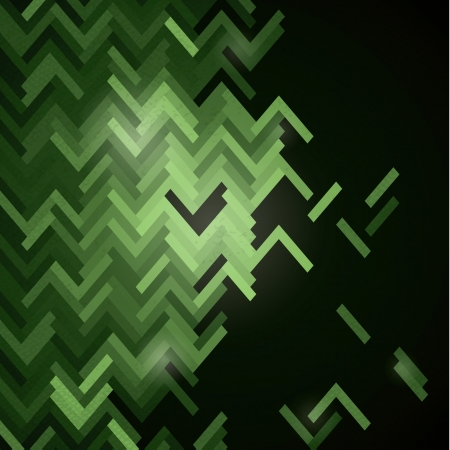 decaying: Vector decaying ornate background. Futuristic feel. Simple pattern in fresh trendy colors. Dark background with space for your content.