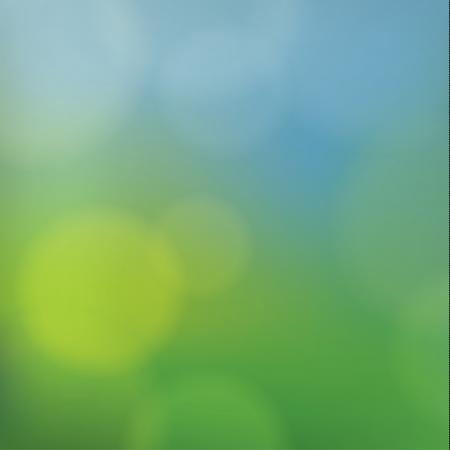 discreto: Resumen de vectores de Discreet. Paisaje de primavera borrosa. Fondo cuadrado para el sitio web, cubierta del producto o la presentación. Telón de fondo neutro con los puntos borrosos.