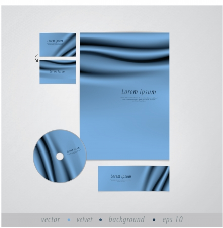 Vector template. Draper design. Sizable and editable friendly. Creative presentation with much space for your content.