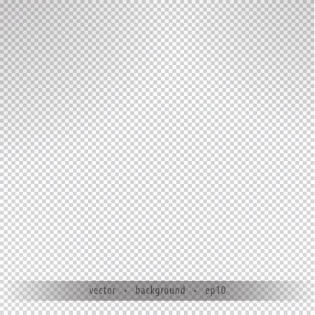 Onzichtbare achtergrond. Lege vector achtergrond - transparantie behang. Concept - digitaal ontwerp. Sameless achtergrond met mooie schaduwen.