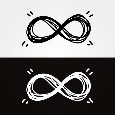 infinito simbolo: infinity mano empate