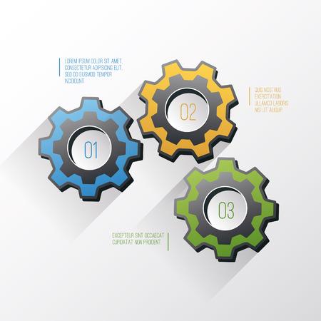 Cogwheel template