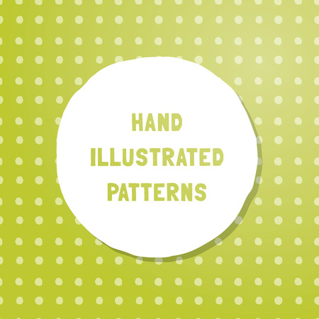 Vector hand-illustrated seamless texture. Tile of endless patterns, draw by hand. Ready for website or print.