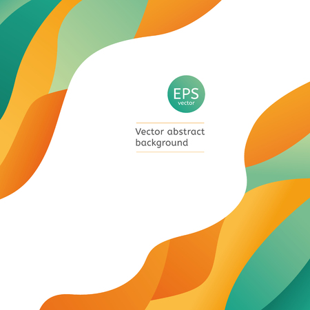 Vector geometric backgrounds. Universal colorful template with place for your text.