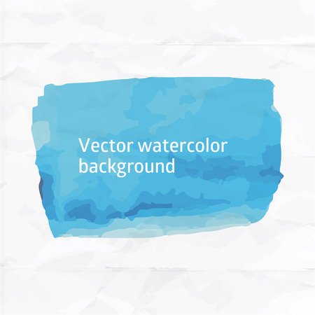 aquarell: Vector aquarell template with place for your text. Illustration