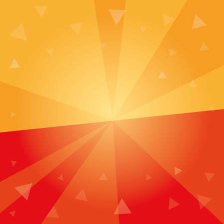 burst background: Abstract geometrical background. Halved sun burst background. Dynamic centered template with tiny transparent triangles. graphic.