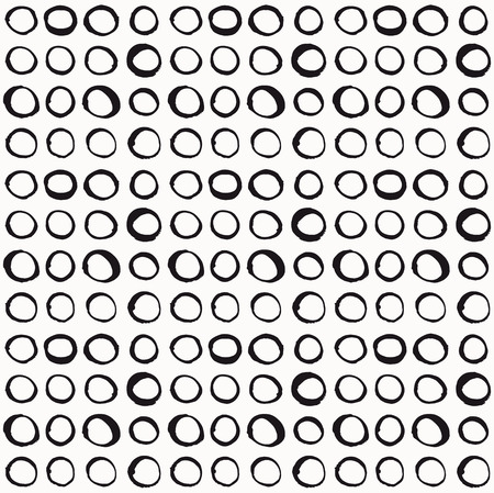 precise: Handmade seamless texture - Precise composed circles. Perfect as background for greeting cards, business cards, covers, and more.