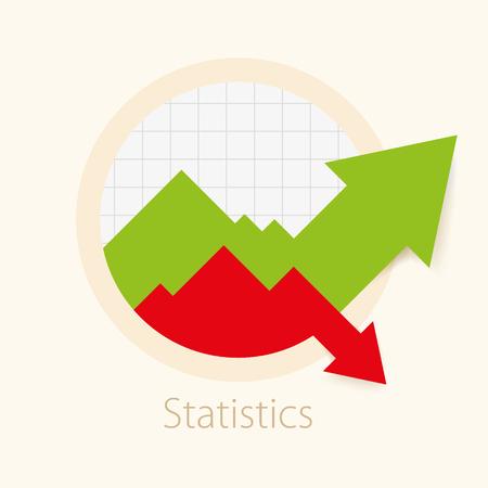 Grafici di disegno circolare di vettore. Grafici illustrati per eventuali statistiche. Elementi grafici aziendali.