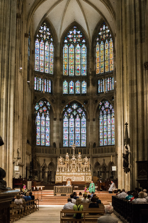 hall in the Catholic Church