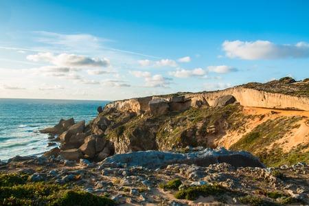 Beautiful landscapes of Fishermens Trail, Trails Alentejo, Rota Vicentina hiking trail Portugal