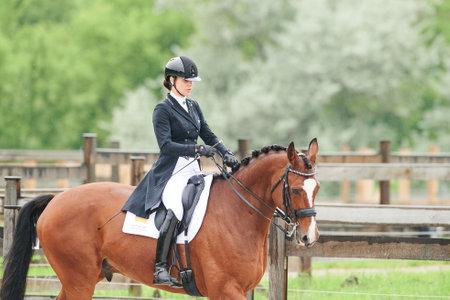 Kharkiv, Ukraine - June 5, 2021: The Equestrian FEI Dressage World Cup Kharkiv 2021