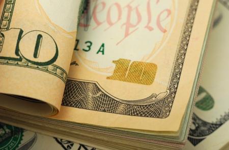 dollar banks note money background Stock Photo - 19089252
